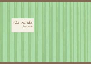 グリーンを基調としたストライプ模様。和風のイメージにも使えます。