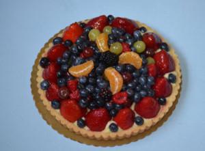 元画像のタルトケーキ。